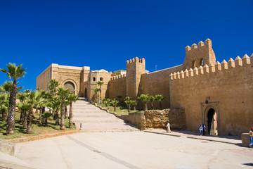 Fotorolgordijn Marokko Rabat Kasbah