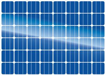 textura placas solares