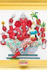 Indian or Hindu God Name Uddanda Ganapati