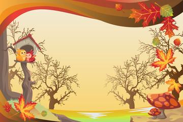 Autumn or Fall season background