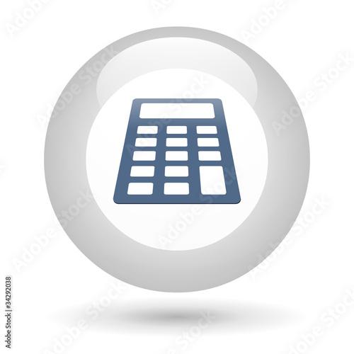 Ic ne calculette photo libre de droits sur la banque d for Calculette en ligne gratuite