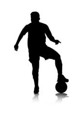 Fussballspielerin – Block