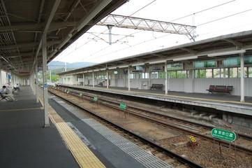 阪急電車の駅舎