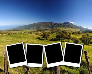 Paysages sauvages de La Réunion.