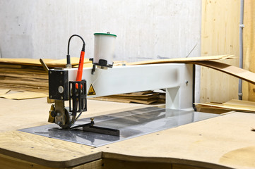 machine for processing wood