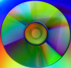 Colorful CD Background