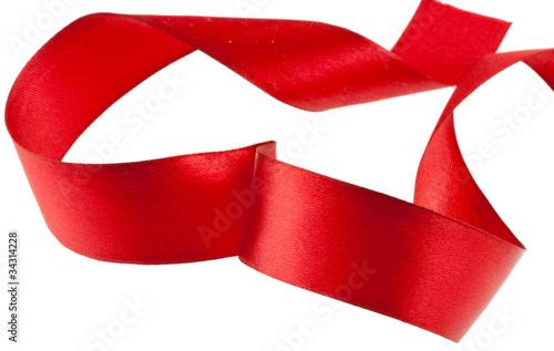 Ruban soie rouge coeur emballage cadeau photo libre - Emballage cadeau saint valentin ...