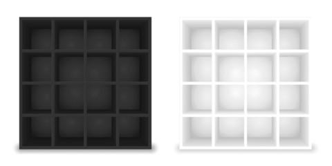 regale schwarz weiß 1