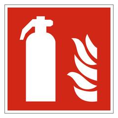 Feuerlöscher Zeichen Symbol Brandschutzzeichen
