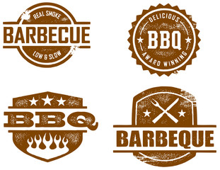 Vintage Style BBQ Graphics