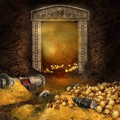 Jaskinia ze smoczym skarbem