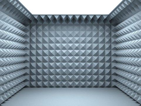 empty soundproof room