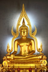 Image of Buddha, Wat Benchamabophit, Bangkok, Thailand