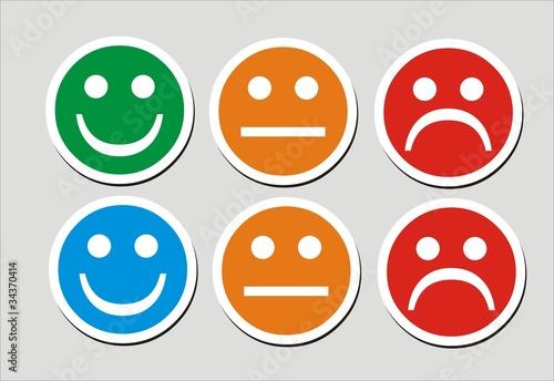 Tiquettes smiley fichier vectoriel libre de droits sur la banque d 39 images image - Image de smiley a imprimer ...