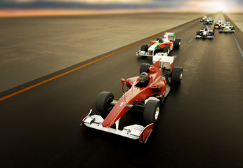 Acrylic Prints F1 F1 Cars