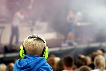 Loud live music