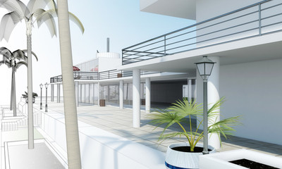 Chalet lineas
