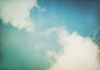 Wall Mural - Vintage Fog and Clouds