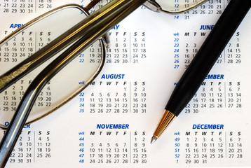 Check out the business calendar concepts of planning ahead