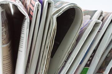 Fotobehang Kranten journaux