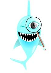 searching shark