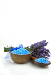 spa lavender salt