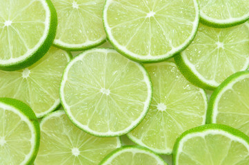 Lime fruit background