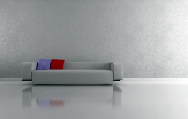3d Interno con divano