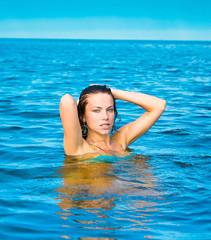 Happiness Swimming Joy