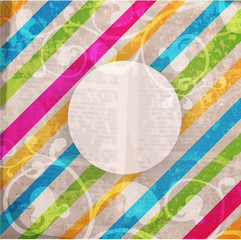Abstract pattern for design. Retro paper background