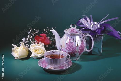 розы книга чай чайник кружка скачать