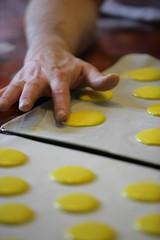 Macaron jaune