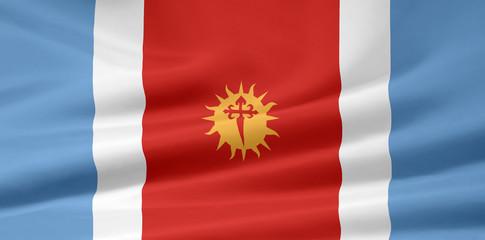 Flagge der Provinz Santiago del Estero - Argentinien