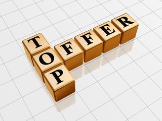 golden top offer like crossword