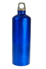 Blue drink bottle