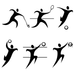 set team sports. summer sports. Olympic discipline.