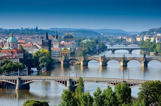 Ponts dans Prague