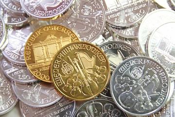 Philharmoniker - Silber und Gold Münzen