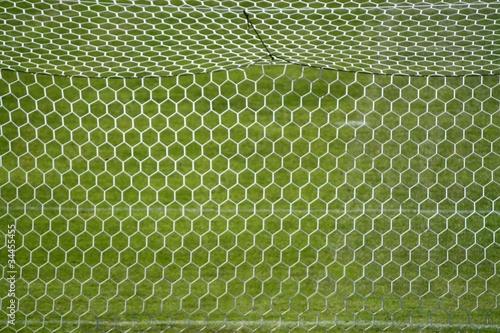 filet de cage de but de football photo libre de droits sur la banque d 39 images. Black Bedroom Furniture Sets. Home Design Ideas