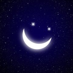 Smile star in The dark Galaxy.