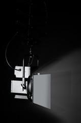 Fresnel video lights