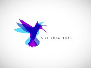 Vector Abstract Bird Design