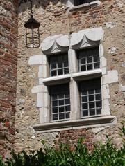 fenêtre de chateau