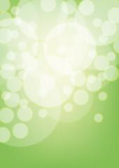 Green bokeh. EPS10 transparency.