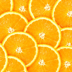 Aluminium Prints Slices of fruit Abstract background with citrus-fruit of orange slices