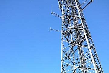 Radio communication tower.
