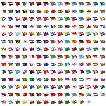 World Flag Mix