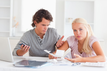 Clueless couple accounting