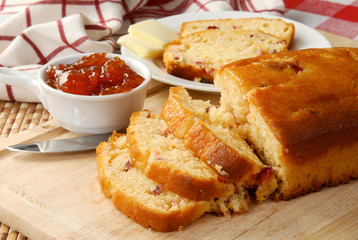 Holiday cranberry bread