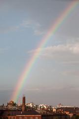Multi color rainbow spectrum